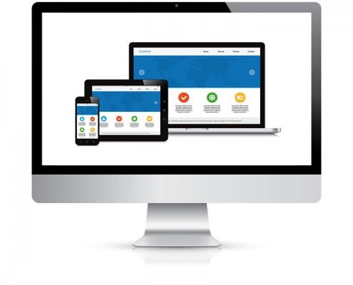Dienstleistungen webdesign statische website