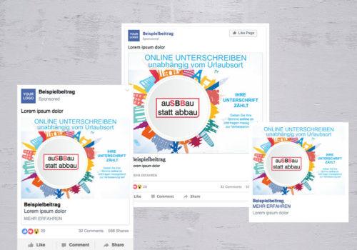 Social Media Ausbau Statt Abbau Online Unterschreiben