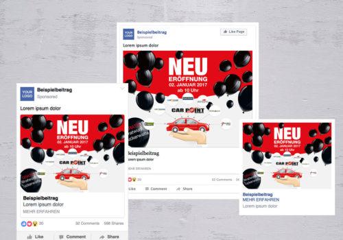 Social Media CarPoint-Uzwil Neueröffnung