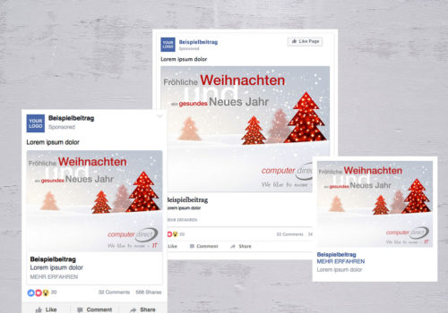 Social Media Computer Direct Neues Jahr