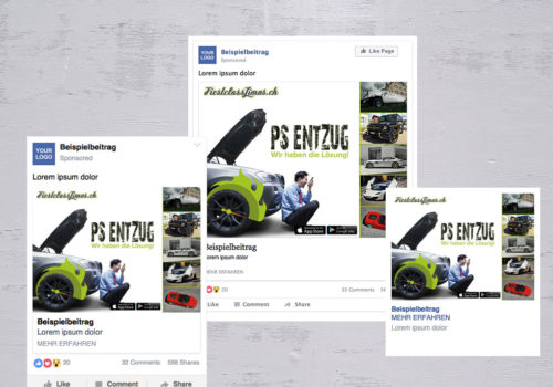 Social Media FirstclassLimos.ch PS Entzug