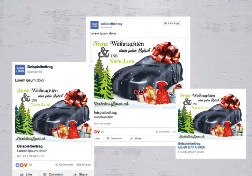 Social Media FirstclassLimos.ch Weihnachten