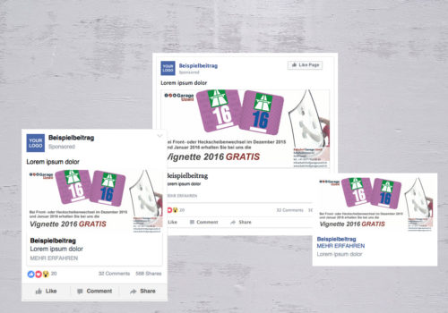 Social Media Bahnhofgarage Uzwil Vignette 2016