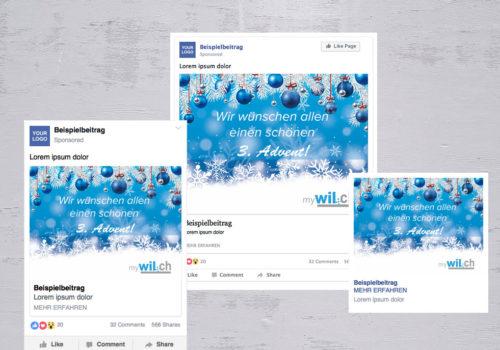 Social Media MyWil.ch Weihnachten