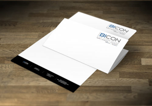 Briefpapier BICON