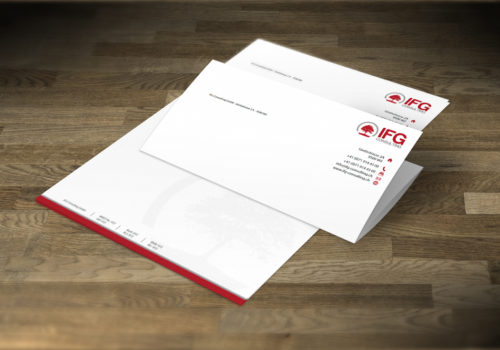 Briefpapier Design & Print Media Consulting GmbH