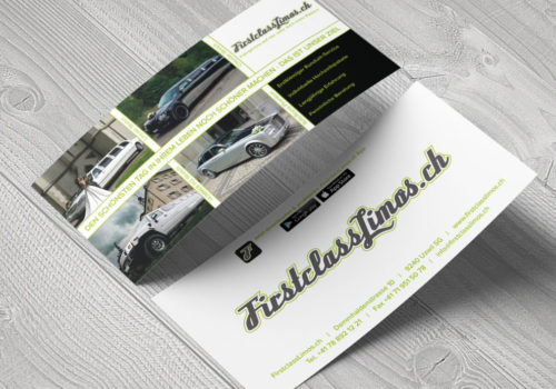 Flyer FirstclassLimos.ch