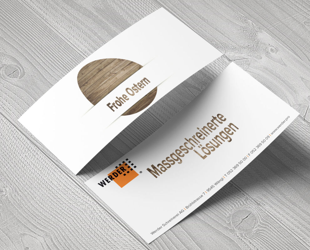 Flyer Design & Druck Media Consulting GmbH