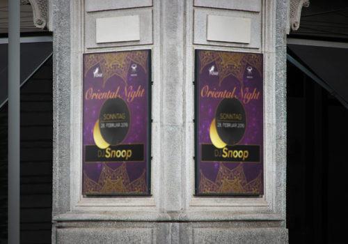 Plakate Oxe Gossau Oriental Night