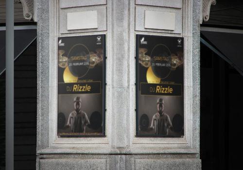 Plakate Oxe Gossau DJ Promotion