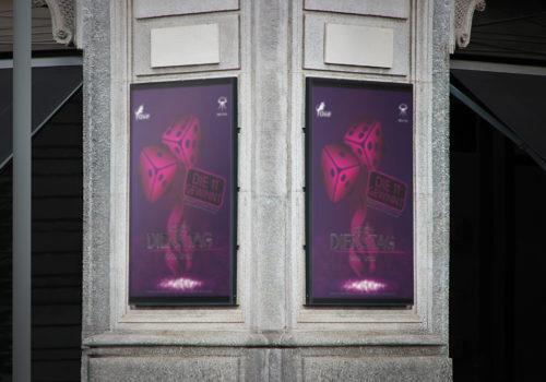 Plakate Oxe Gossau Würfelabend