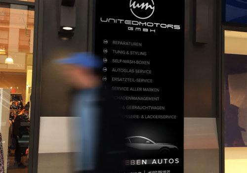 Blachen United Motors Dienstleistungen