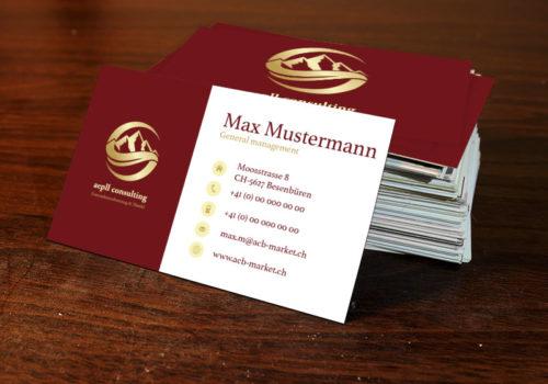 Visitenkarten Design & Print Media Consulting GmbH