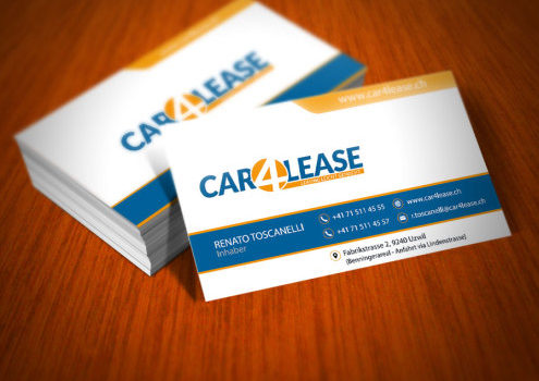 Visitenkarten Car4Lease