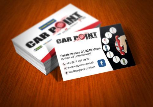 Visitenkarten CarPoint-Uzwil