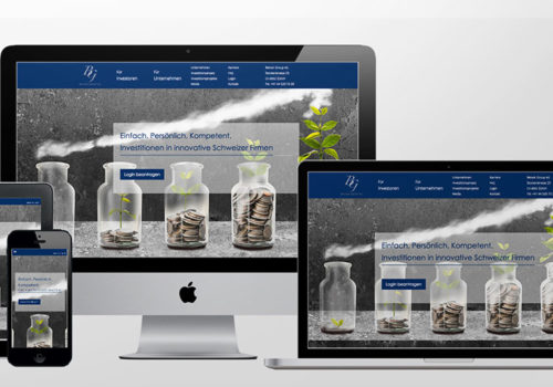 Webdesign Belvoir Group Home
