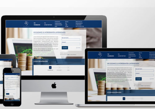 Webdesign Belvoir Group Investoren
