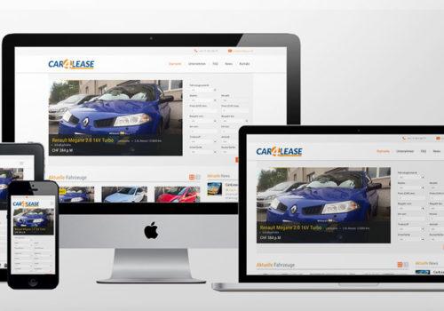 Webdesign Car4Lease