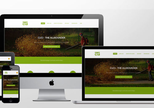 Webdesign Cuci The Allrounder Home