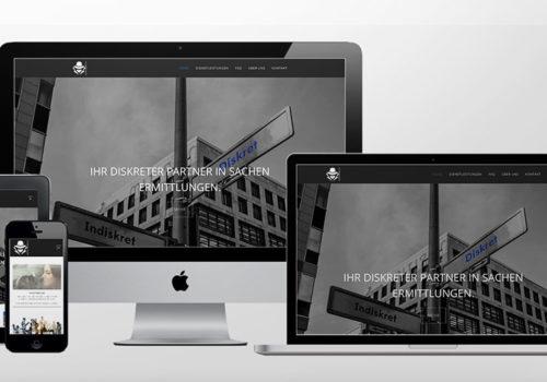 Webdesign Detektivdienste.ch