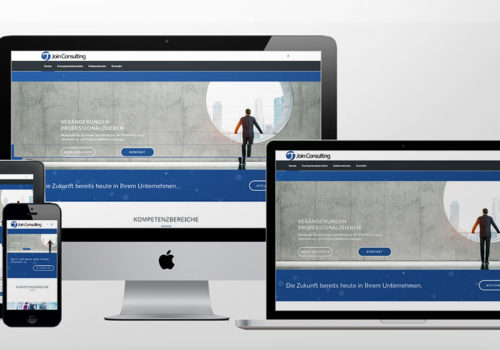 Webdesign Join Consulting