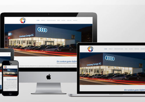 Webdesign Scheidweg-Garage Home