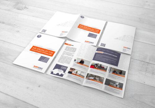 Broschüre Design & Druck Media Consulting GmbH